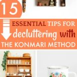 Home beautifully decluttered with the KonMari method