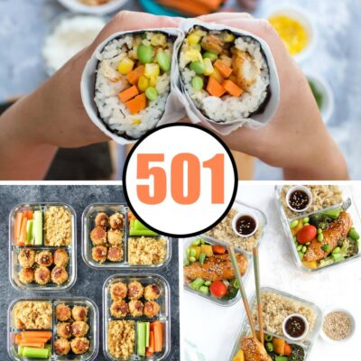 501 Healthy Lunch Ideas for Work That Are ANYTHING But Boring!