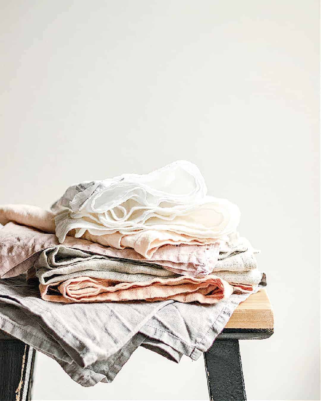 A pile of stuff to get rid of after decluttering