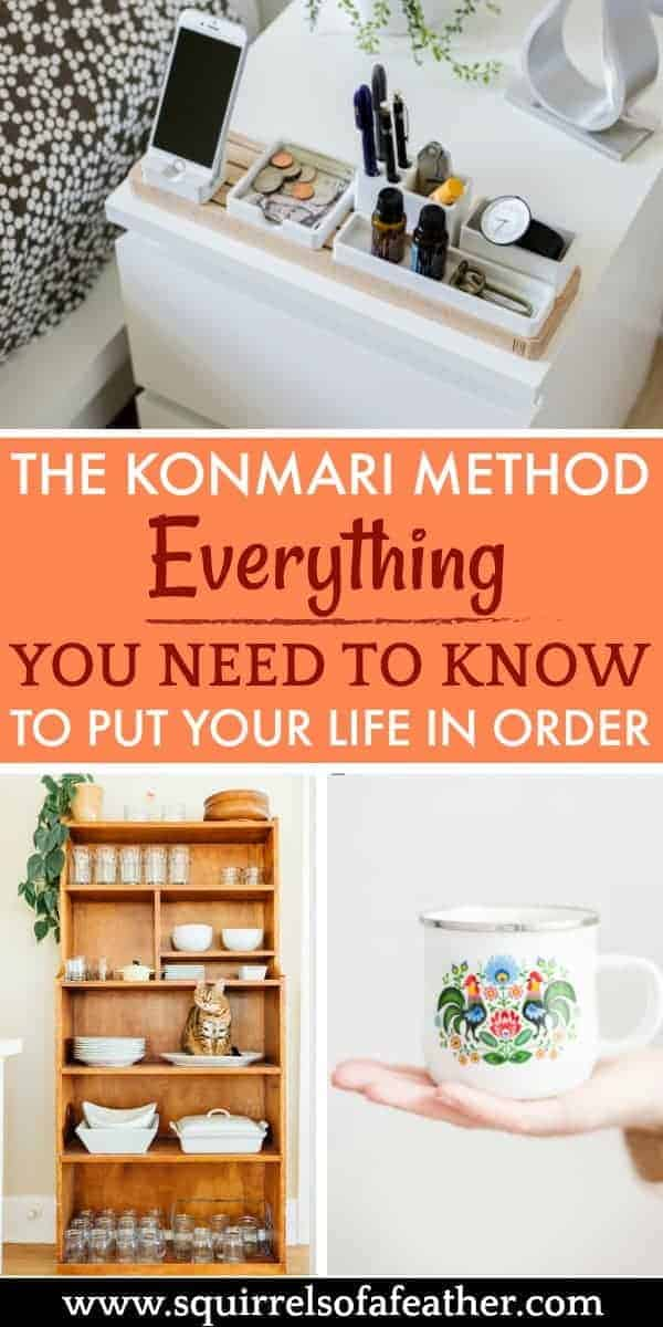 A visual guide to the KonMari method