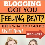 A woman angry because her blog isn't making money