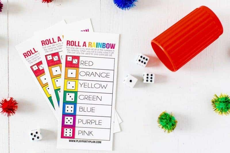A St. Patrick's Day dice game