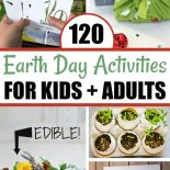 A list of 120 Earth Day activities