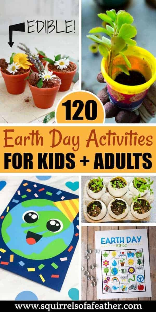 An image collection of Earth Day activities