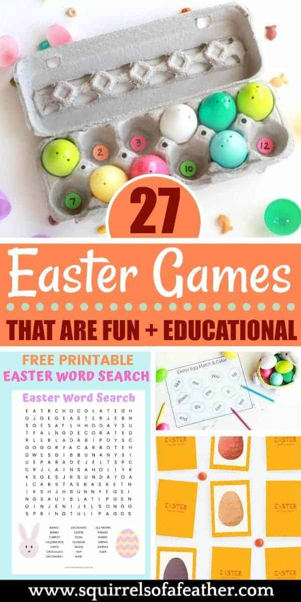 A collection of many fun Easter games
