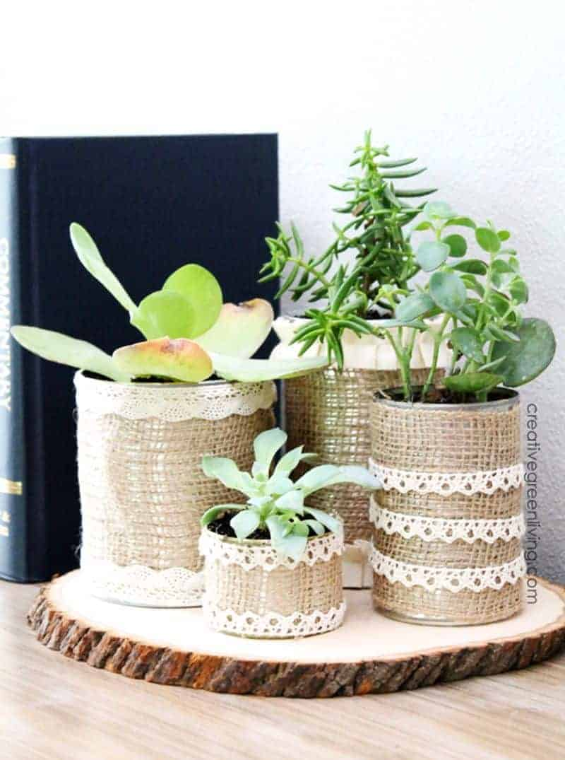 Earth Day DIY planters