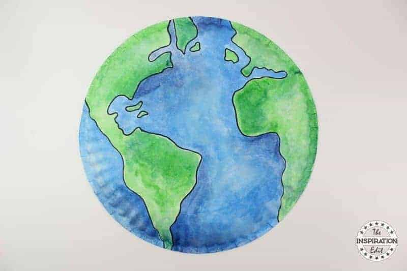 Earth Day paper plate crafts for kids