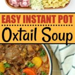 Steps for making oxtail soup
