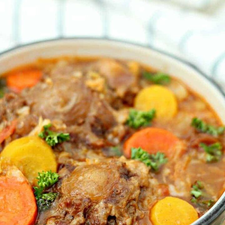 Instant Pot Oxtail Soup Easy Pressure Cooker Recipe