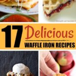 List of best waffle iron recipes