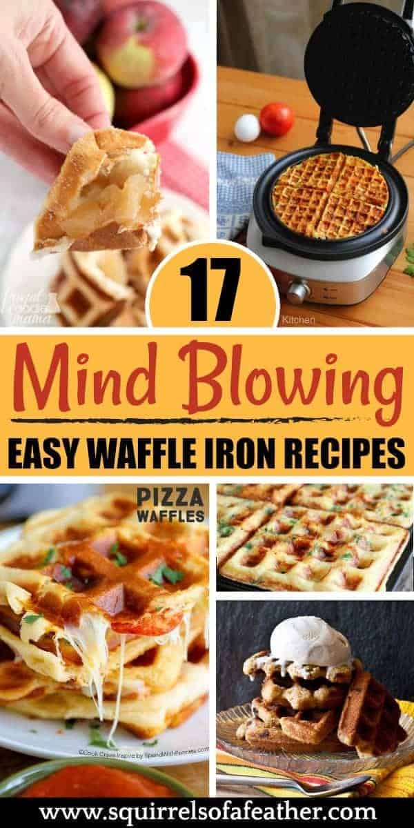 A visual collection of waffle iron recipes