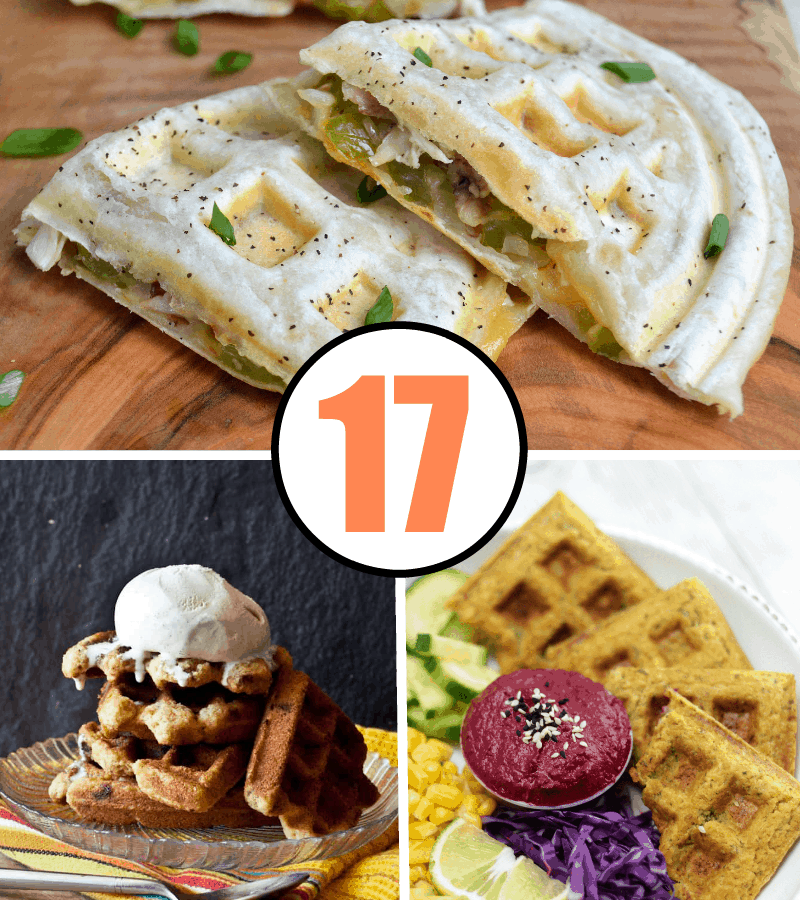 17 Surprising Waffle Iron Recipes That Will Change The Way You Eat