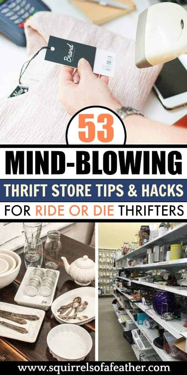 A guidebook on how to thrift at thrift stores