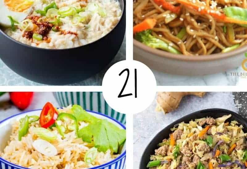 List of the best Chinese recipes