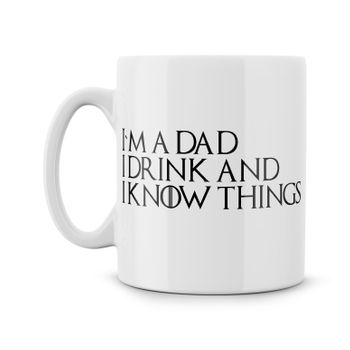 Game of Thrones dad mug
