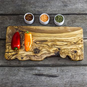 Olive cutting board as gift for dad