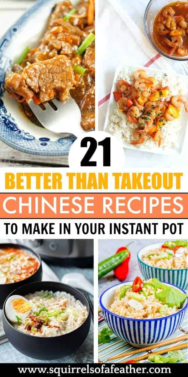 A picture of delicious Chinese food Instant Pot recipes