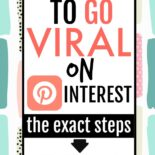 A step-by-step guide on how to go viral