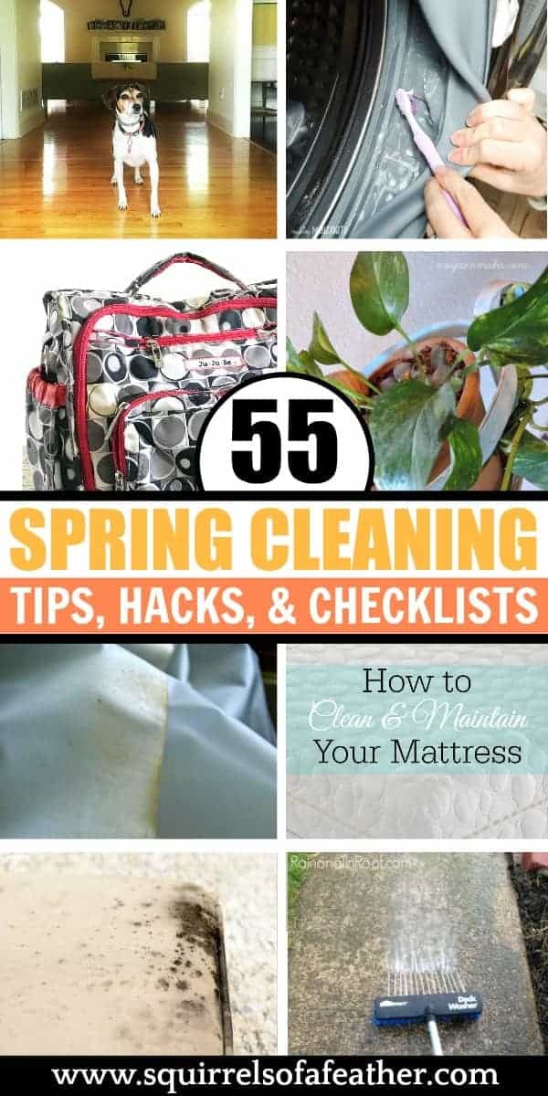 A list of spring cleaning hacks