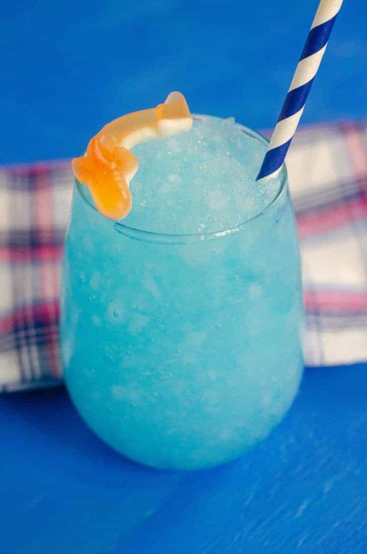 Blue Curacao Shark Drink