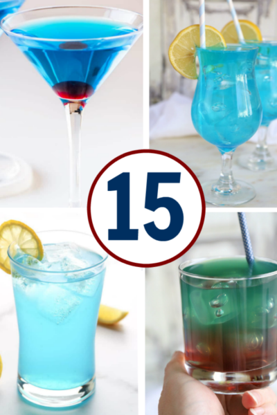 A list of 15 yummy blue curacao drinks