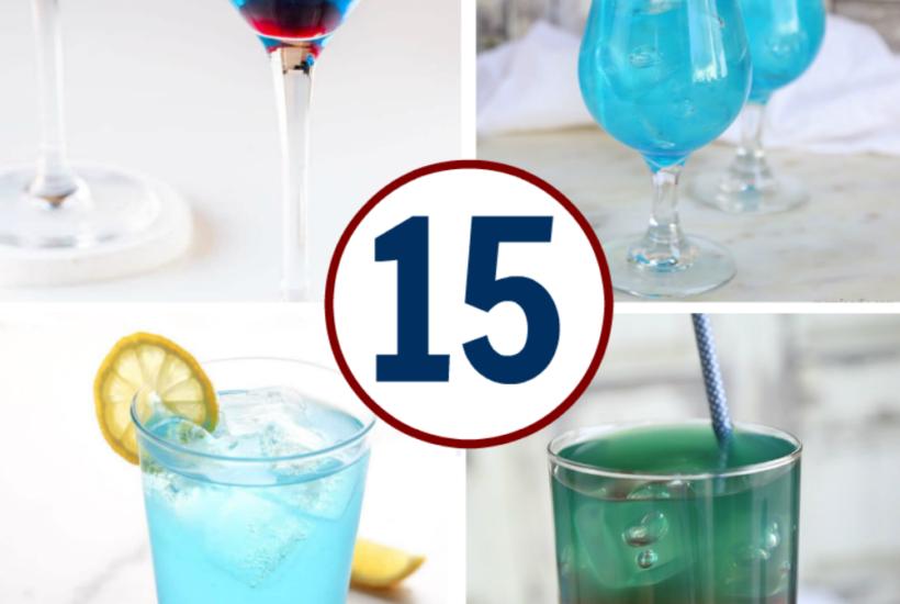 A list of 15 yummy blue curacao drinks