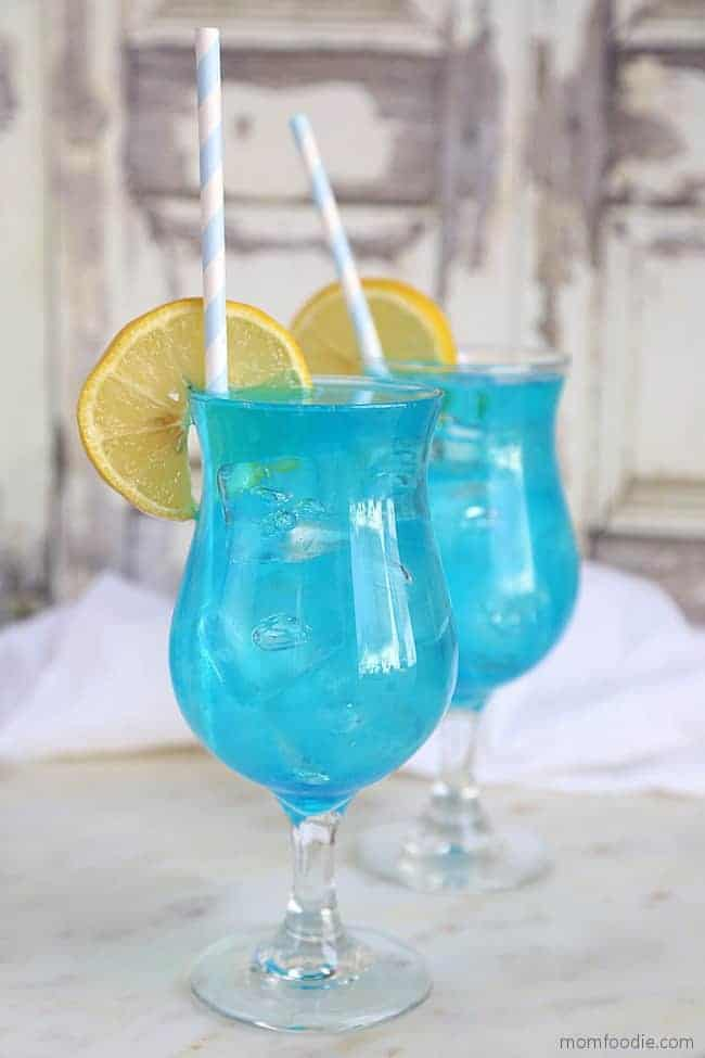 Blue Lagoon Cocktail - Easy Blue Drink Recipe!