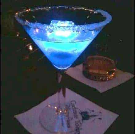 Disney Blue Glowtini Recipe