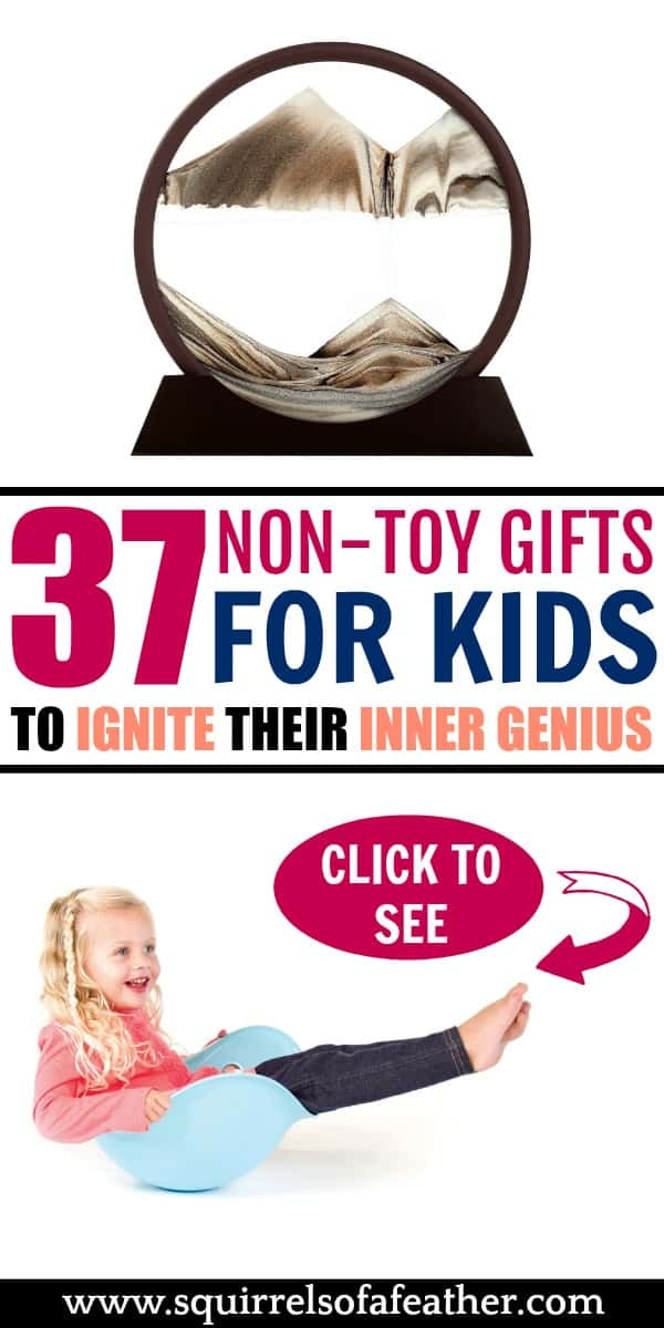A list of non-toy gift ideas for boys and girls