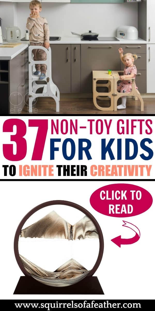 A list of non-toy gift ideas for kids