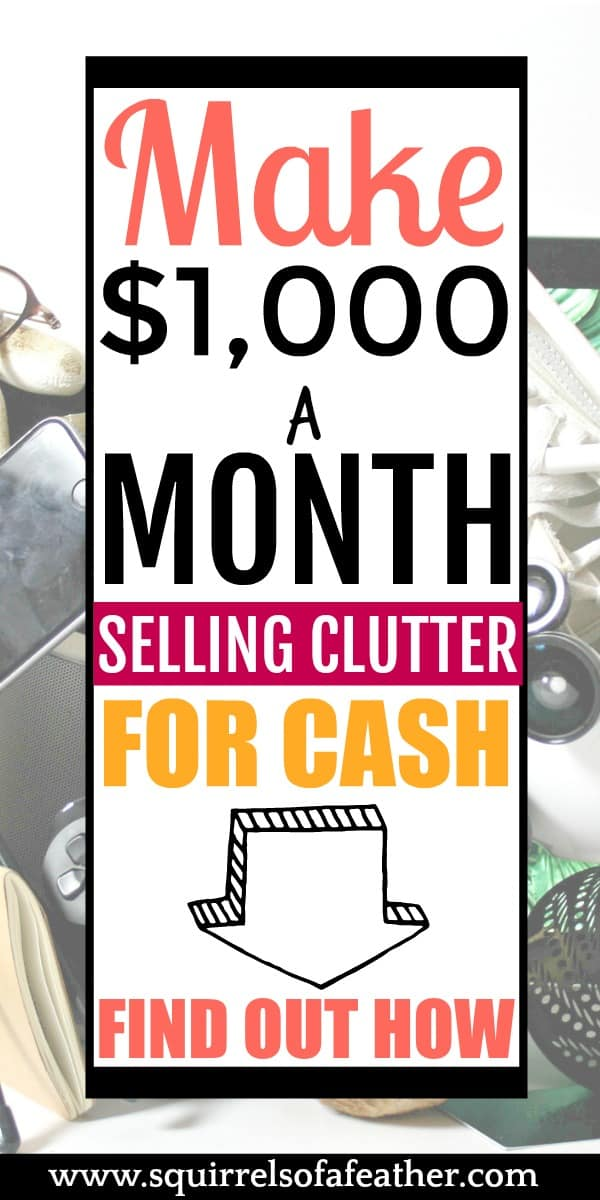 Visual guide to making money selling clutter