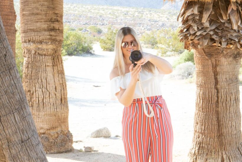 A small travel blogger making money by taking pictures