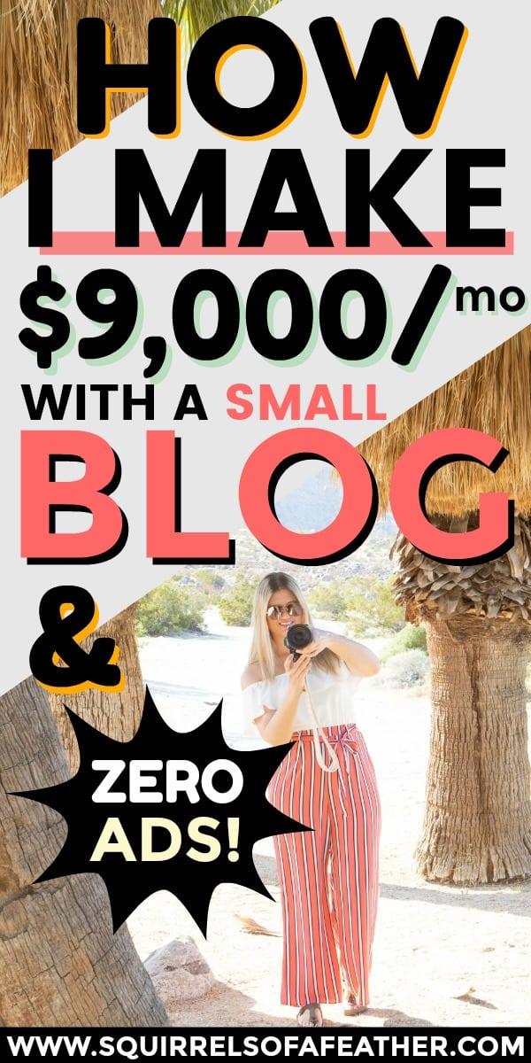 A travel blogger making money as a freelance photographer