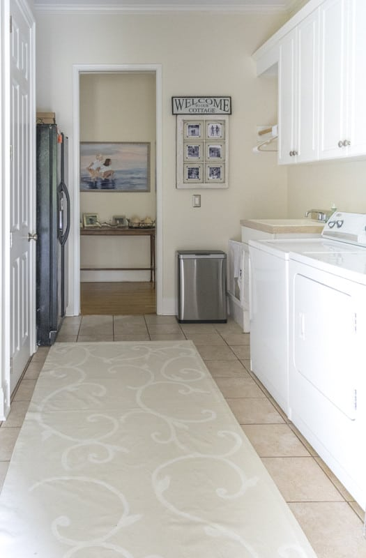 A large laundry room