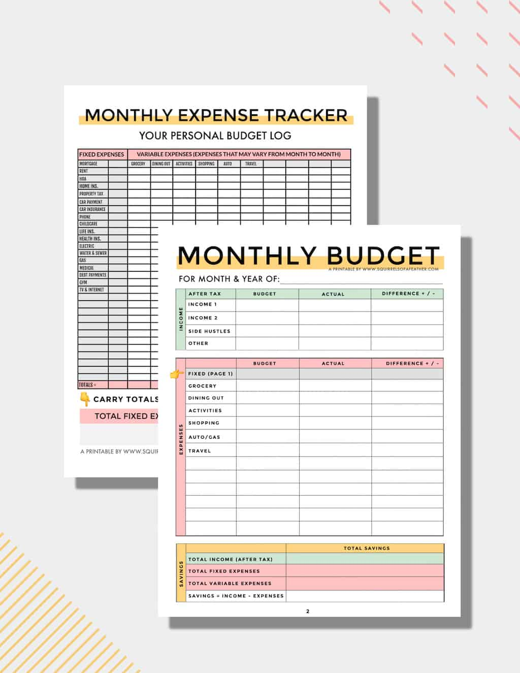 Complete FREE Budget Planner PDF