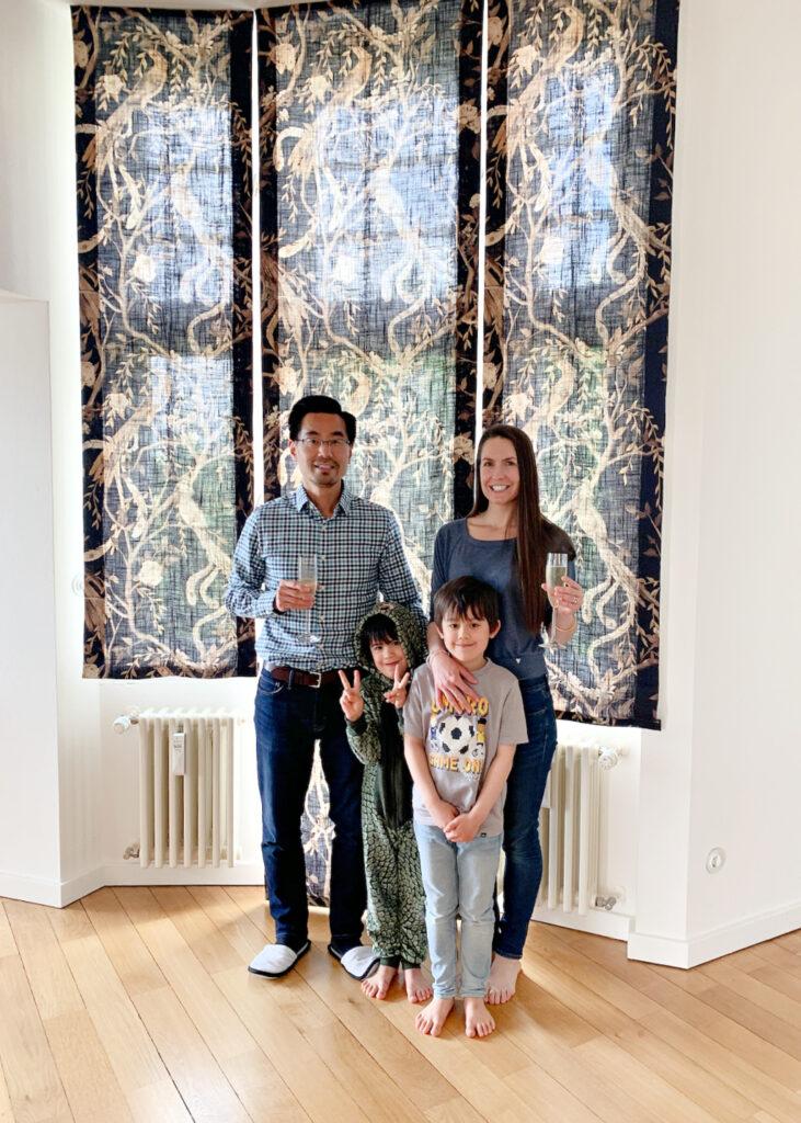 Marissa Zen and her family