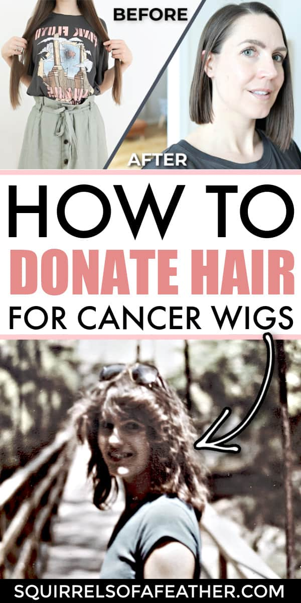 A step-by-step guide on how to donate hair
